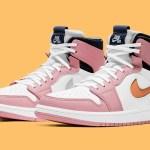 ナイキ エア ジョーダン 1 ズーム コンフォート ピンク グレイズ Nike Air Jordan 1 Zoom Comfort Pink Glaze CT0979-601 main pair