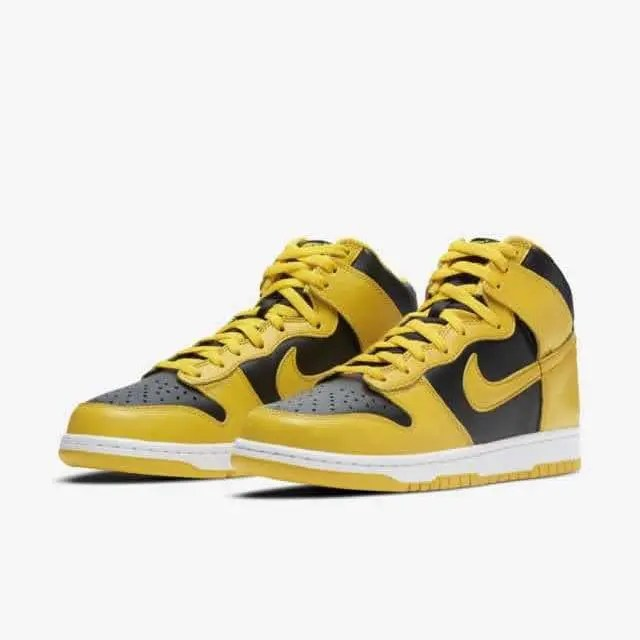 "ナイキ ダンク ハイ SP ""バーシティ メイズ"" nike-high-varsity-maize-dunk-hi-sp-cz8149-002-pair-main"