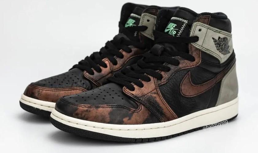 Nike Air Jordan 1 Retro High OG Fresh Mint-3