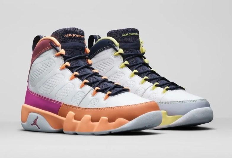 """ナイキ エア ジョーダン 9 ウィメンズ """"チェンジ ザ ワールド"""" Nike-Air-Jordan-9-Change-The-World-Cactus-Flower-CV0420-100-pair-2"""