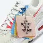 """ナイキ エア マックス 90 """"ザ フューチャー イズ イン ジ エア"""" Nike-Air-Max-90-The-Future-is-in-the-Air-DD8496-161-tag"""