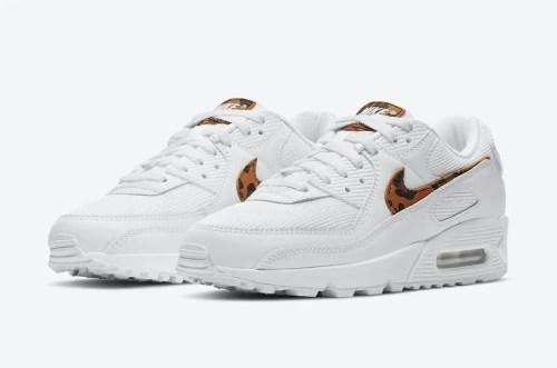 """ナイキ エア マックス 90 """"レオパード"""" Nike-Air-Max-90-WMNS-Leopard-DH4115-100-pair"""