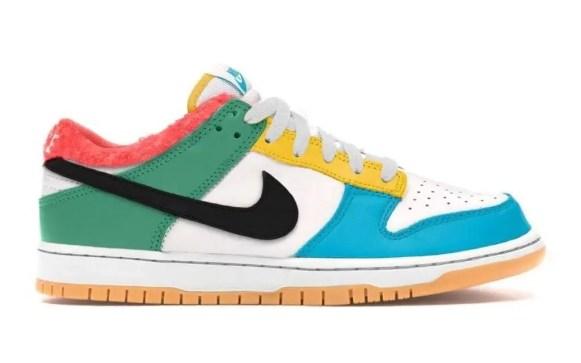 """ナイキ ダンク ロー SE """"フリーナインティナイン"""" Nike-Dunk-Low-SE-Free-99-DH0952-100-side"""