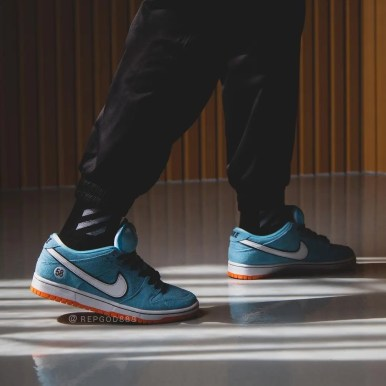"""ナイキ SB ダンク ロー プロ """"クラブ 58"""" Nike-SB-Dunk-Low-Club-58-BQ6817-401-wearing"""
