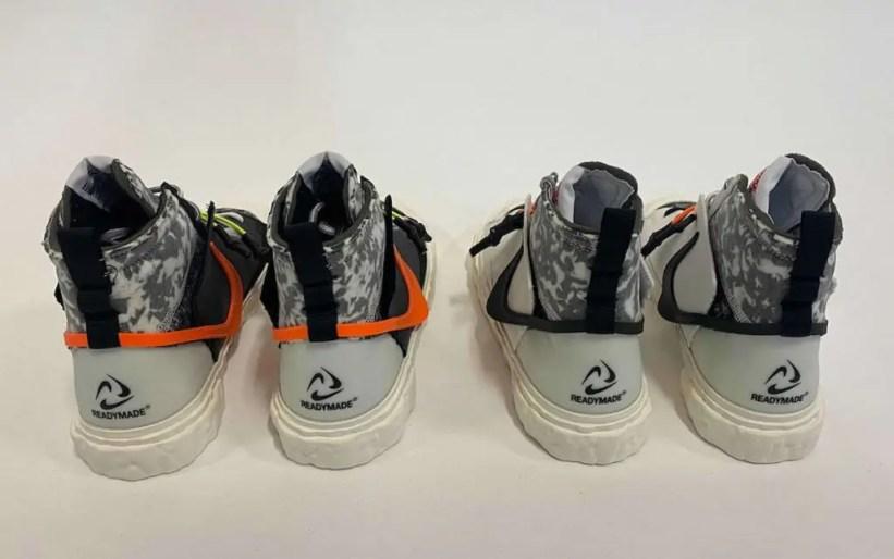 レディメイド × ナイキ ブレーザー ミッド/ ヴァストグレー READYMADE-Nike-Blazer-Mid-Vast-Grey-CZ3589-100 detail