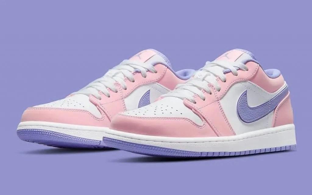 """ナイキ エア ジョーダン 1 ロー SE """"アークティック パンチ"""" Nike-air-jordan-1-low-arctic-punch-ck3022-600-pair"""