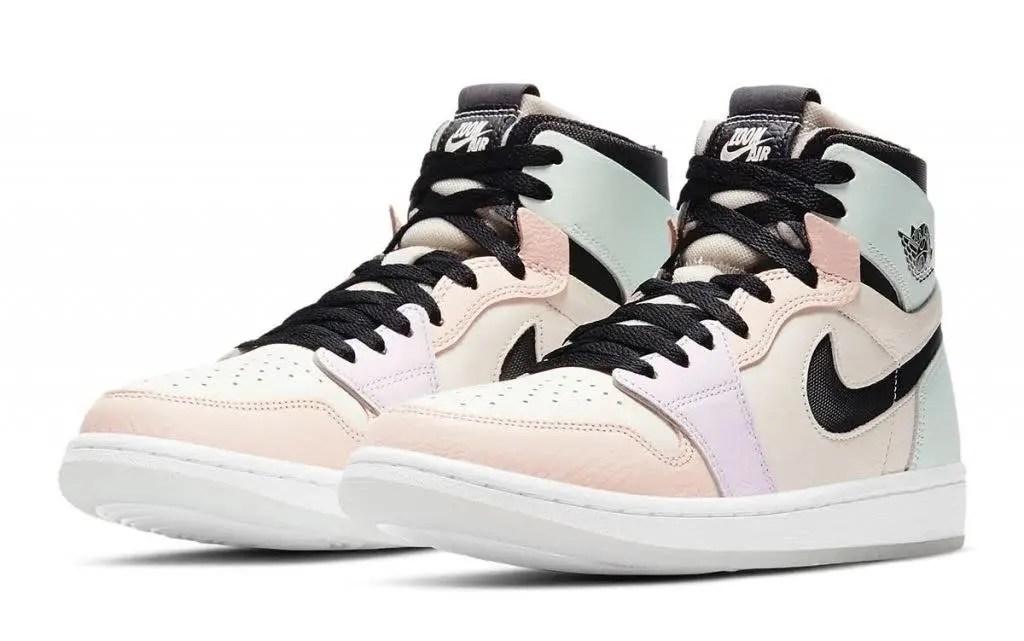"""ナイキ エア ジョーダン 1 ズーム コンフォート """"イースター"""" Nike-air-jordan-1-zoom-comfort-easter-ct0979-101-pair"""