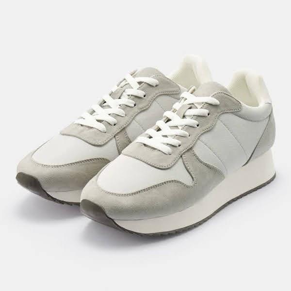 GU ジョグ スニーカー グレー Jogging-Sneaker-Grey