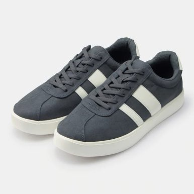 GU ジーユー ライト ソール スエード タッチ スニーカー ブルー Light-Sole-Suede-Touch-Sneaker-navy blue