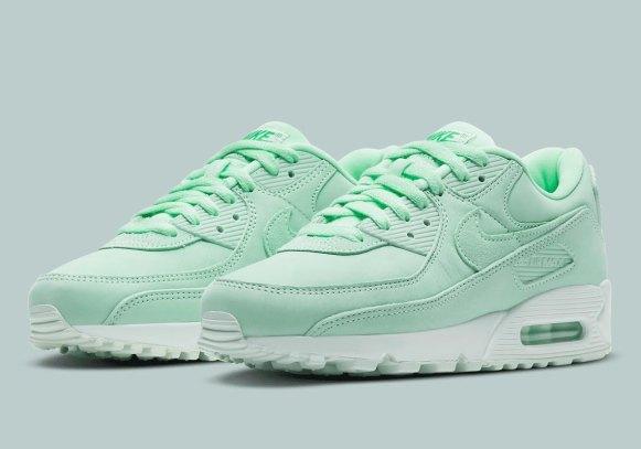 ナイキ ウィメンズ エア マックス 90 Nike-Air-Max-90-DD5383-342-pair
