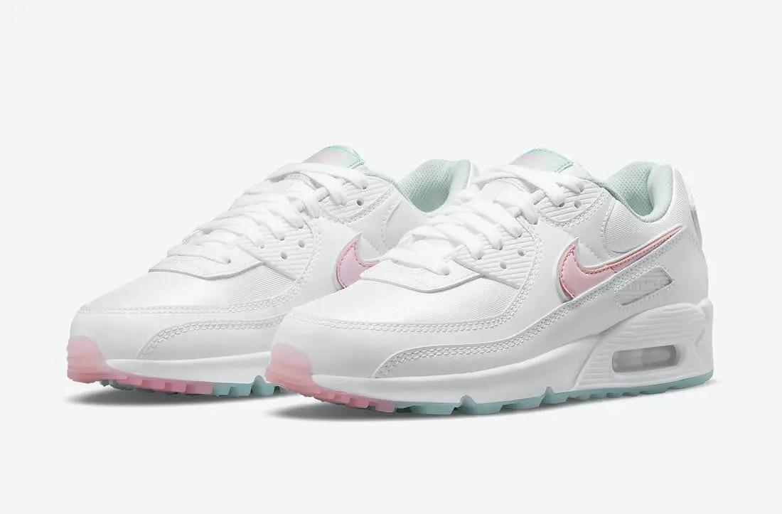"""ナイキ エア マックス 90 """"イースター"""" Nike-Air-Max-90-DJ1493-100-pair"""