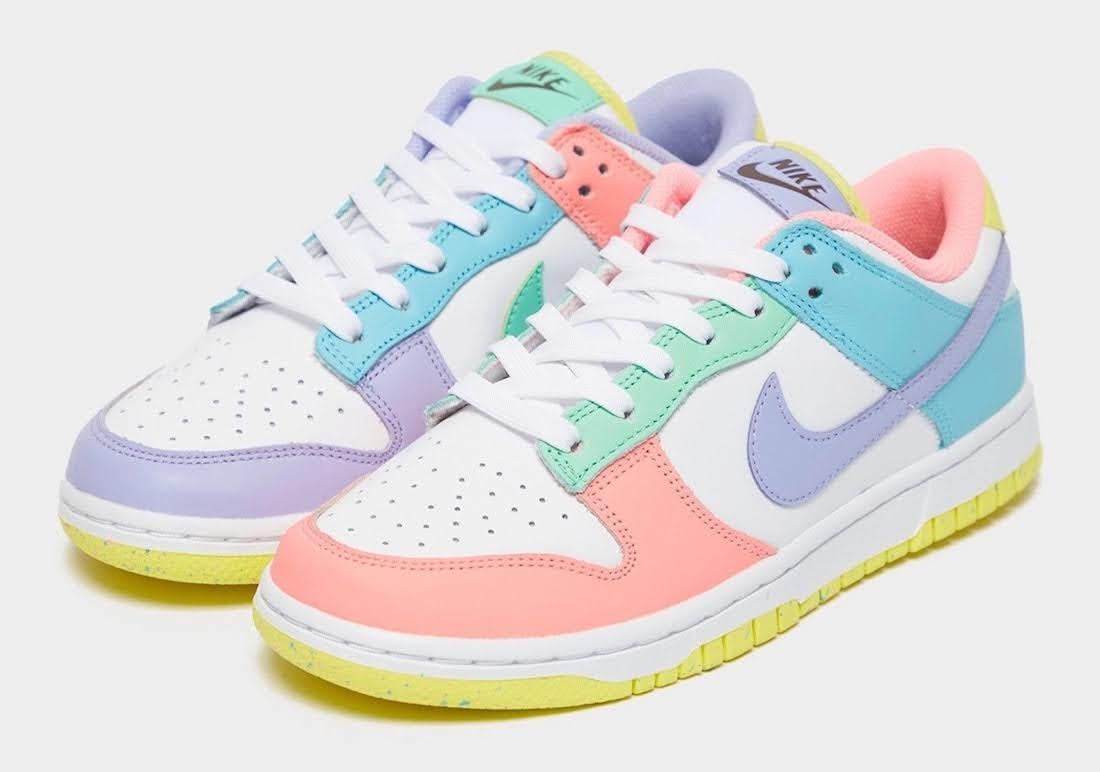 """ナイキ ウィメンズ ダンク ロー """"ライト ソフト ピンク"""" Nike-Dunk-Low-Light-Soft-Pink-DD1503-600-pair"""