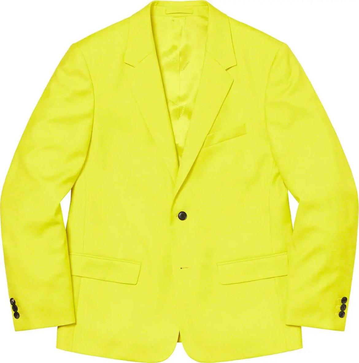 シュプリーム 2021年 春夏 新作 ジャケット Supreme 2021ss jacket 一覧 wool-suit-yellow
