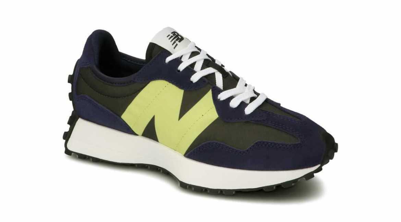 """New Balance WS 327 CC """"NAVY"""" NAVY pair main"""