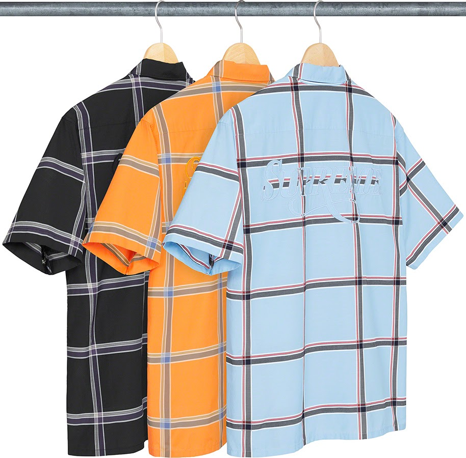 シュプリーム 2021年 春夏 新作 シャツ Supreme 2021SS shirts Lightweight Plaid S/S Shirt