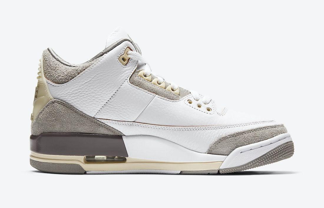 ア マ マニエール × ナイキ エア ジョーダン 3 A-Ma-Maniere-Nike-Air-Jordan-3-DH3434-110-side-2