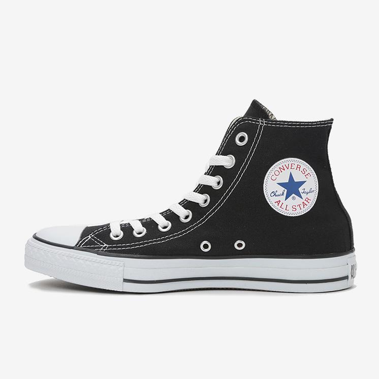 コンバース 黒 オールスター スニーカー ブラック Converse All Star Hi Black White