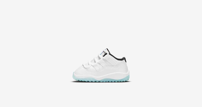 "Nike Air Jordan 11 ""Legend Blue"" ナイキ エアジョーダン 11 ""レジェンド ブルー"" White/White-Black-Legend Blue TD main"