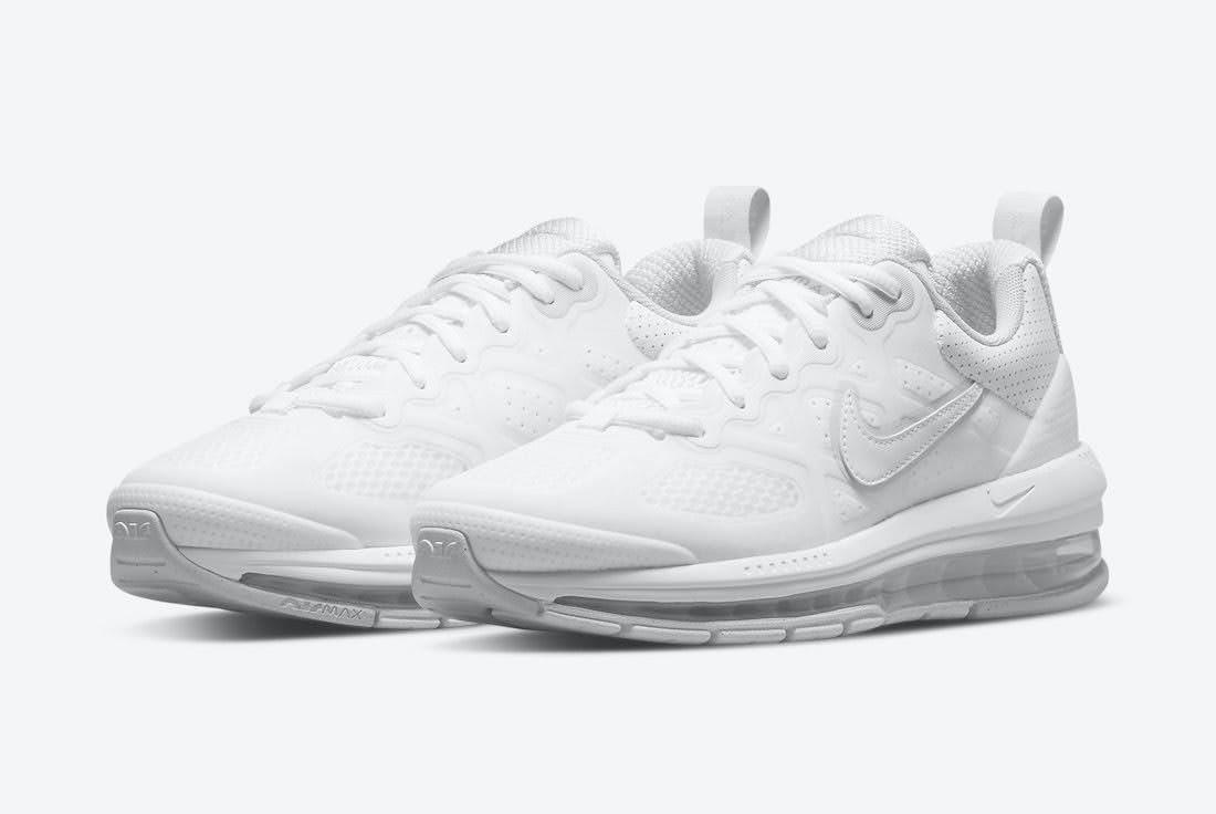 """ナイキ エア マックス ゲノム """"トリプル ホワイト"""" Nike-Air-Max-Genome-Triple-White-CZ1645-100-pair"""