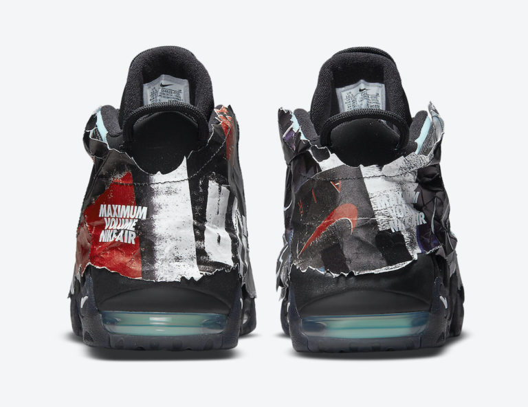 """ナイキ エア モア アップテンポ """"マキシマム ボリューム"""" Nike-Air-More-Uptempo-Maximum-Volume-DJ4633-010-heel"""