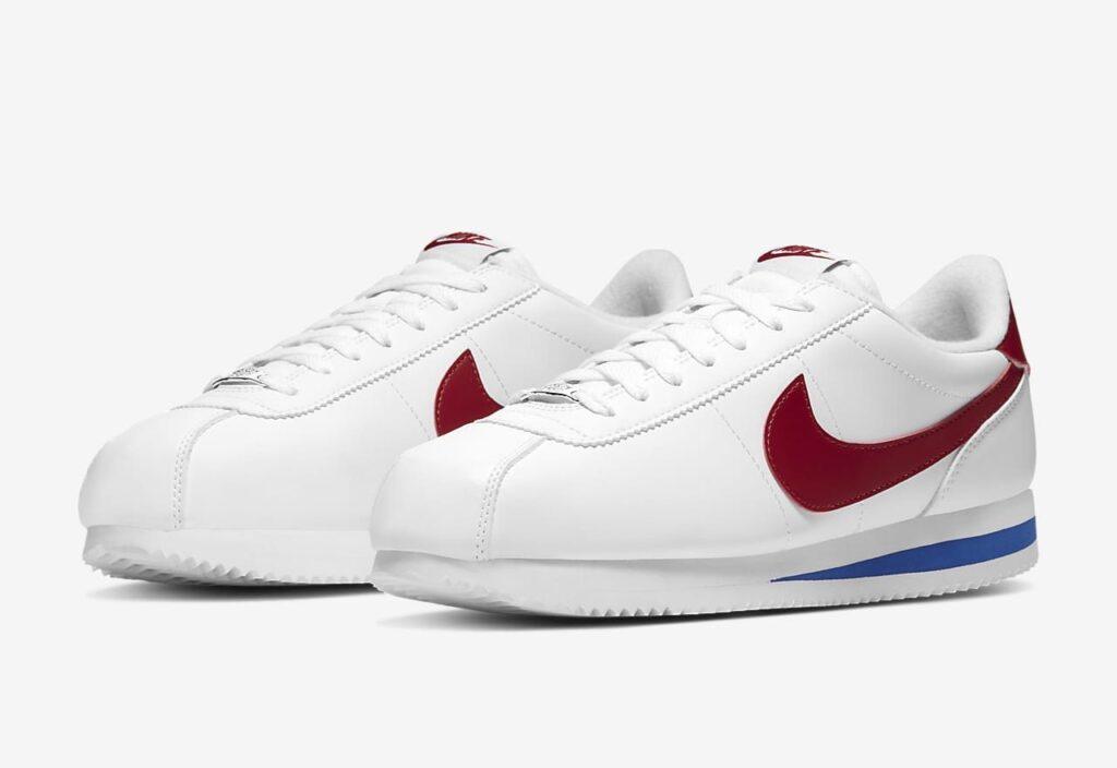 ナイキ コルテッツ スニーカー ホワイト レッド ブルー Nike Cortez White Red Blue Sneakers