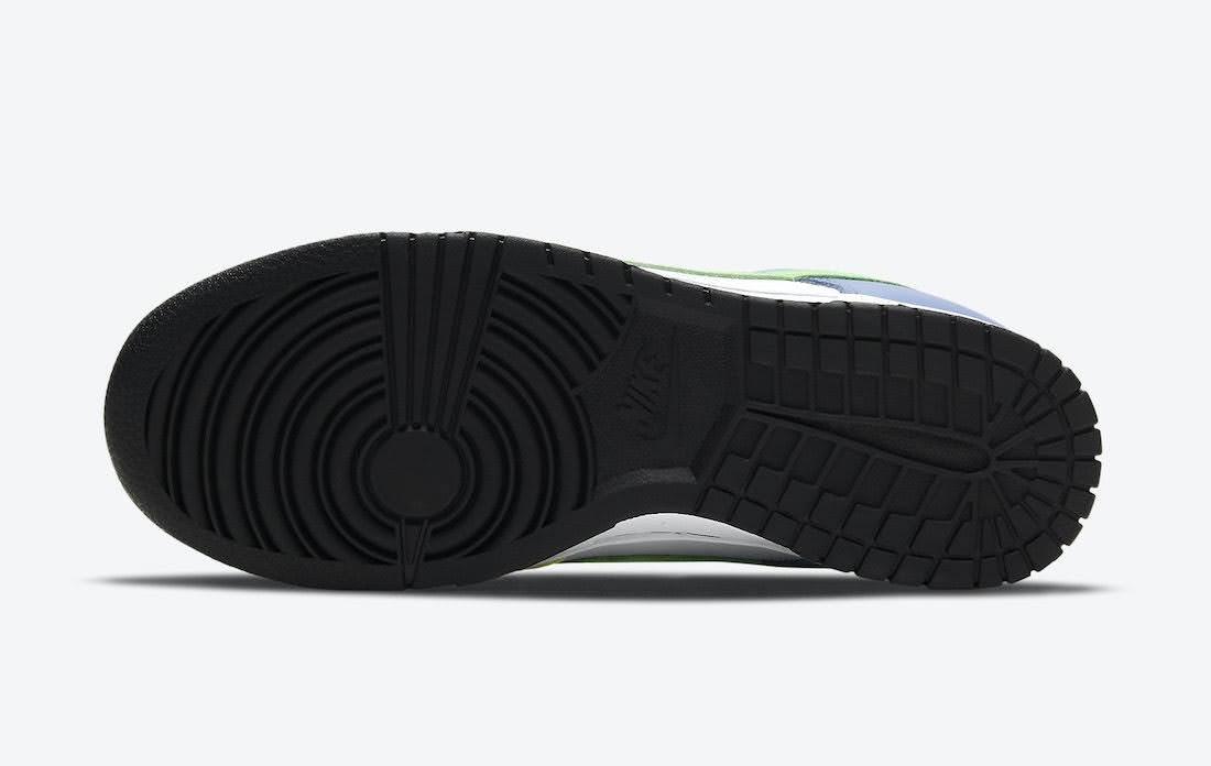 """ナイキ ウィメンズ ダンク ロー """"マルチカラー"""" Nike-Dunk-Low-Multi-Color-DD1503-106-sole"""