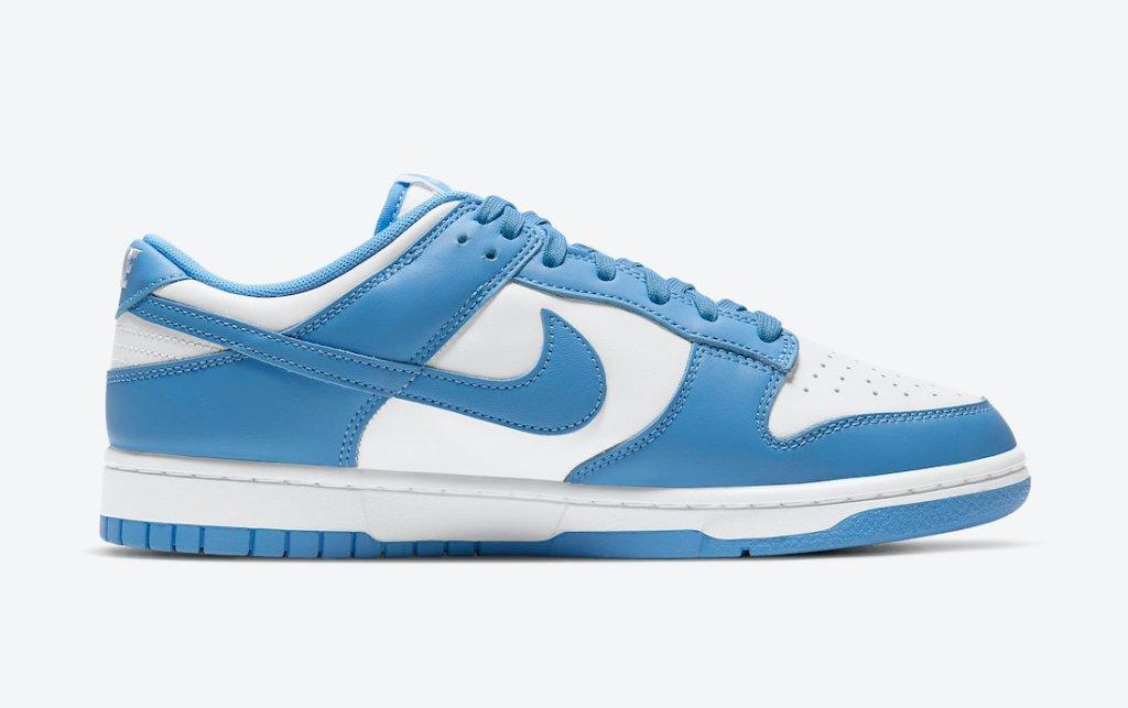 """ナイキ ダンク ロー """"ユニバーシティ ブルー"""" Nike-Dunk-Low-University-Blue-DD1391-102 side right"""
