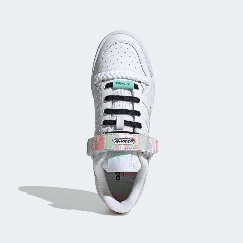 """アディダス フィーラム ロー """"アイ ラブ ダンス"""" adidas-forum-low-i-love-dance-FY5119-top"""