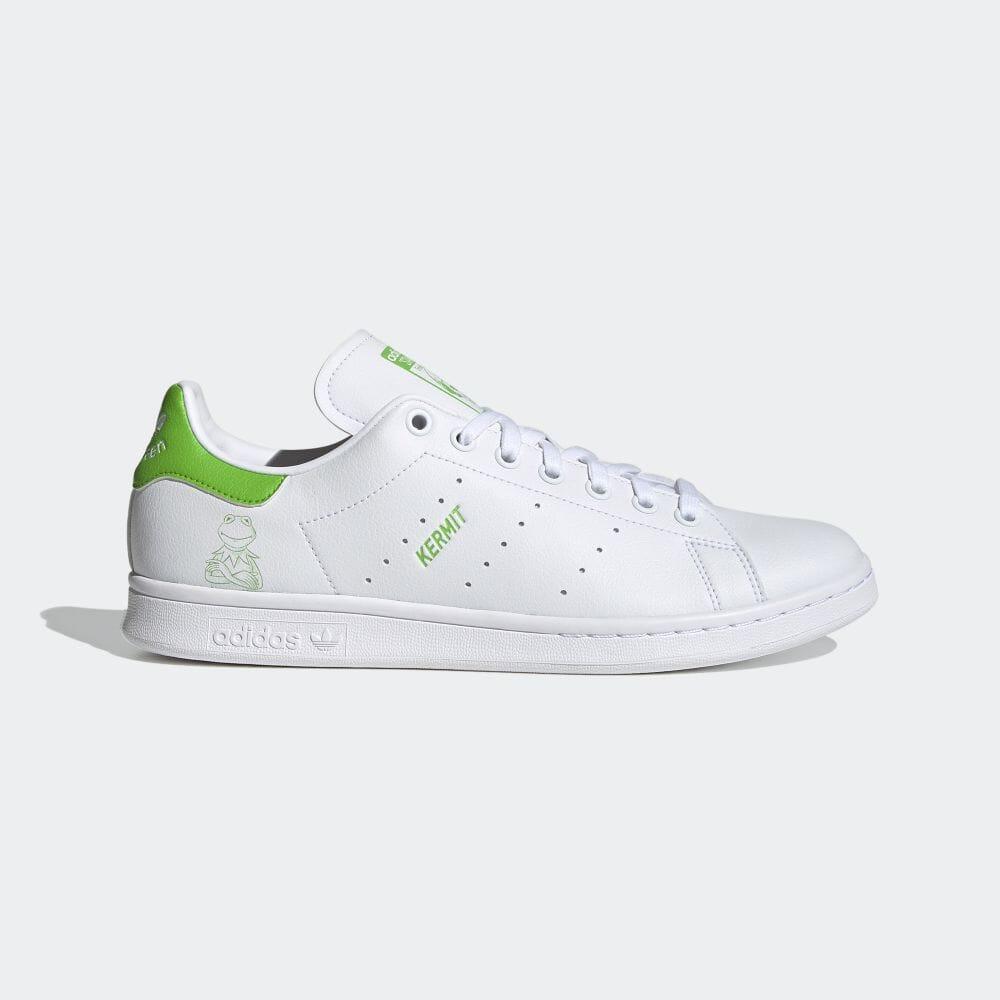 アディダス スタンスミス × カーミット adidas-kermit-stan-smith-FX5550-side