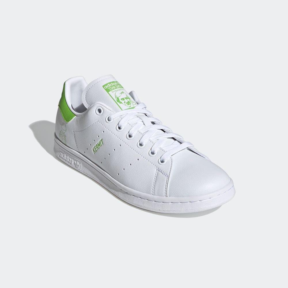 アディダス スタンスミス × カーミット adidas-kermit-stan-smith-FX5550-front