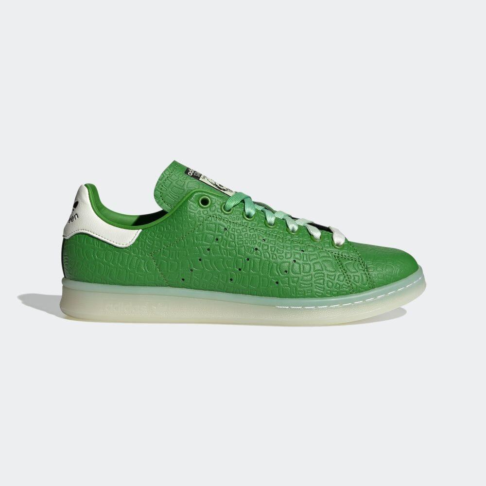 アディダス スタンスミス × レックス ザ ダイナソー adidas-rex-stan-smith-FZ2705-side
