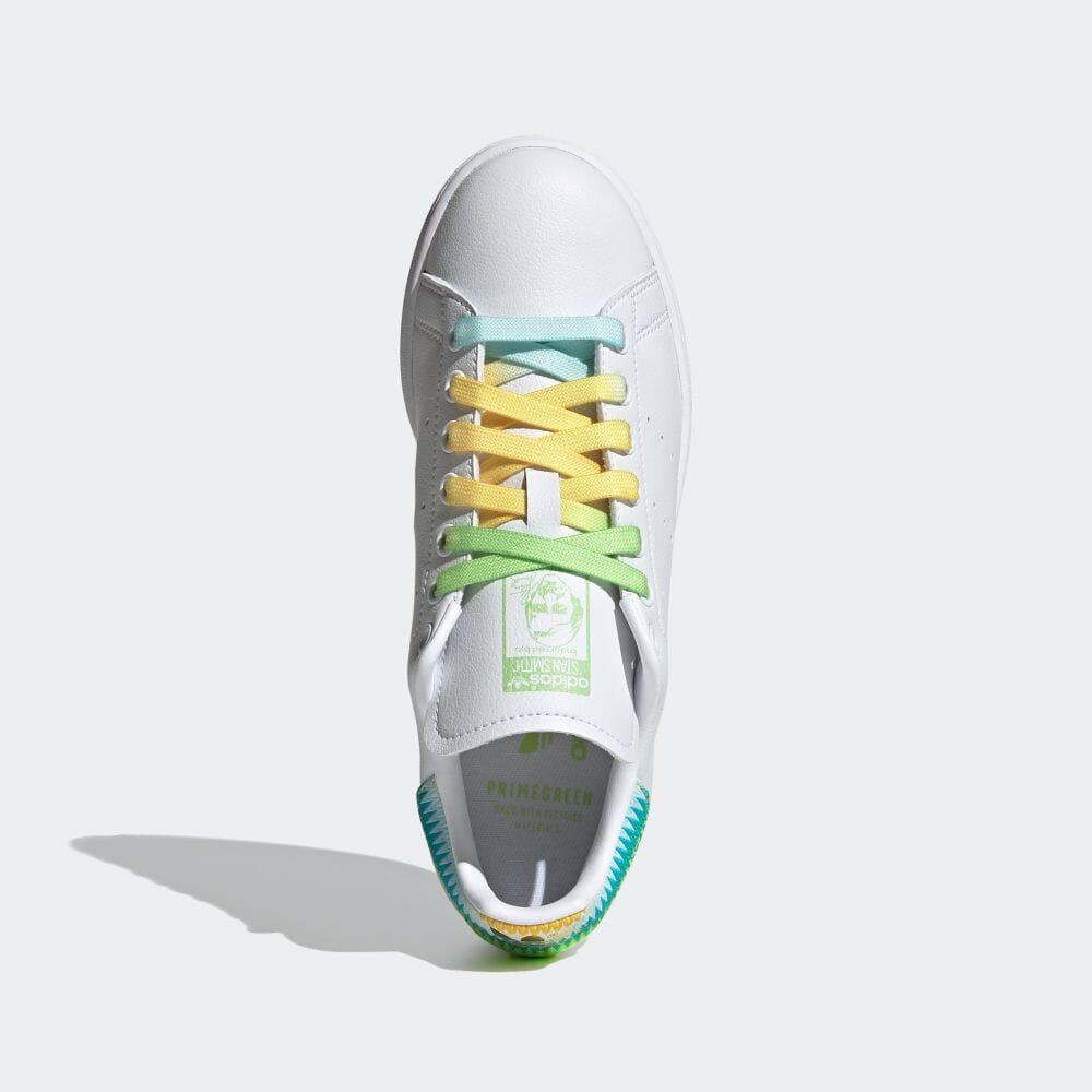 アディダス スタンスミス × ティンカーベル adidas-tinkerbell-stan-smith-FZ2714-top