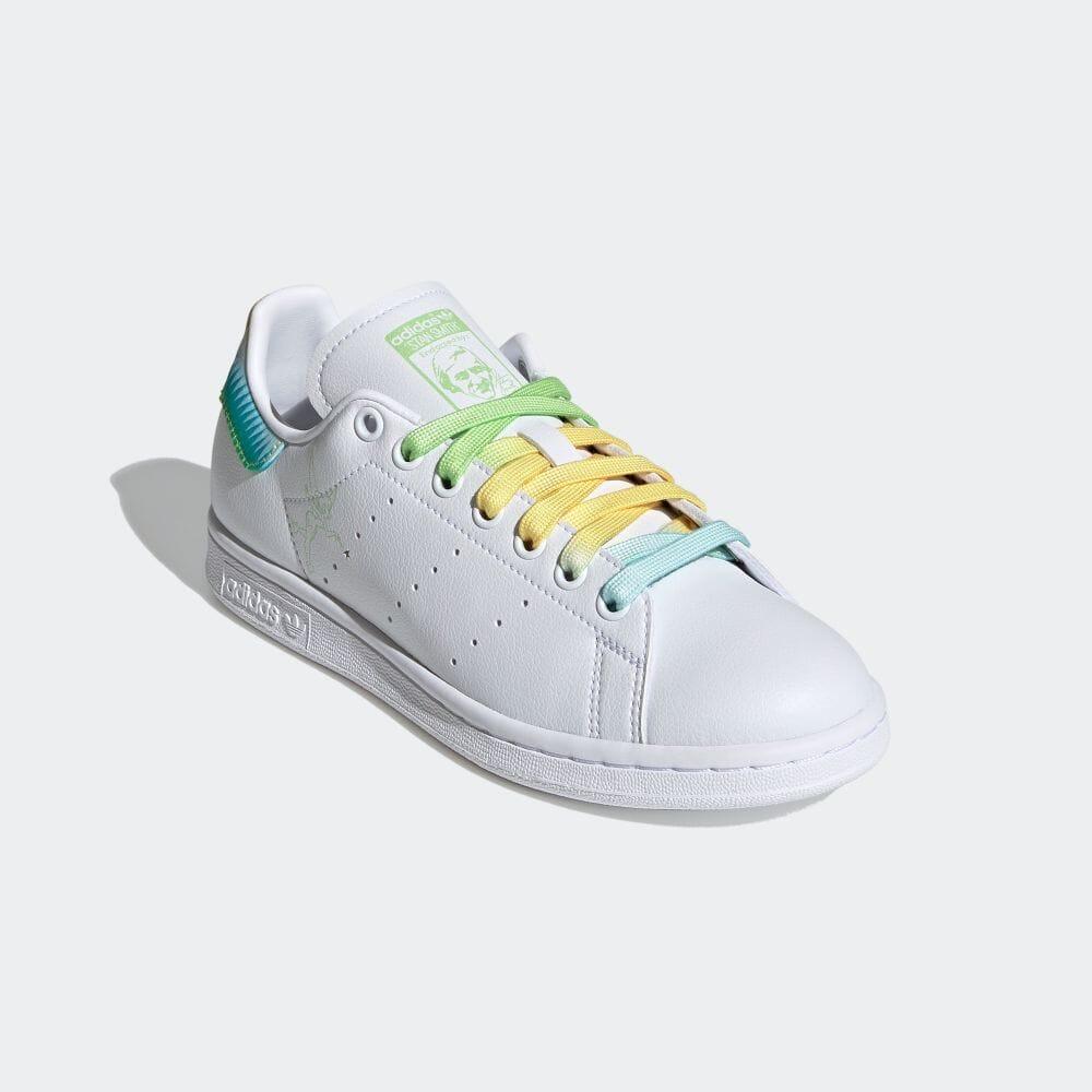 アディダス スタンスミス × ティンカーベル adidas-tinkerbell-stan-smith-FZ2714-front
