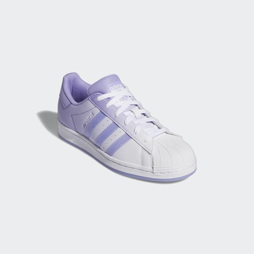"""アディダス ウィメンズ オリジナルス スーパースター """"ライト パープル"""" adidas_Superstar_wmns_light-purple_GW2936-front"""