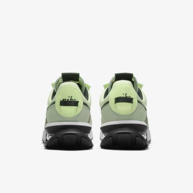 """ナイキ エア マックス プレデイ """"リキッド ライム"""" nike-air-max-pre-day-liquid-lime-dd0338-300-heel"""