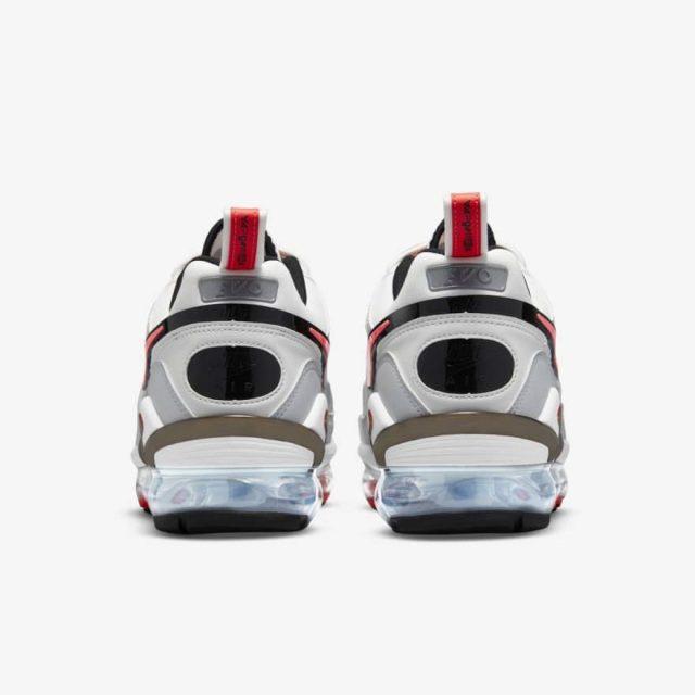 """ナイキ エア ヴェイパーマックス エボ """"インフラレッド"""" nike-air-vapormax-evo-infrared-cz1924-100-heel"""