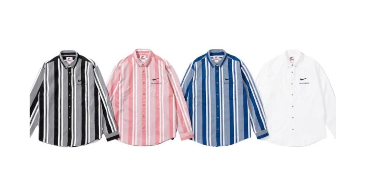 supreme 2021ss シュプリーム 2021春夏 week3 Supreme®/Nike® Cotton Twill Shirt