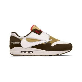 "Travis Scott × Nike Air Max 1 ""Cactus Jack"" トラビス・スコット × ナイキ エアマックス1 モックアップ"