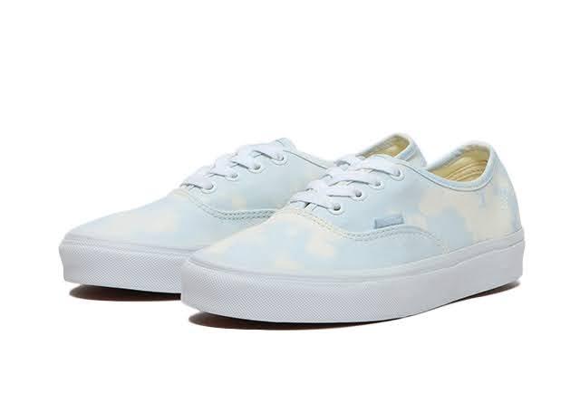 """ヴァンズ """"ブリーチ ウォッシュ パック"""" オーセンティック vans-bleach-wash-pack-authentic-vn0a348a3xo-pair"""