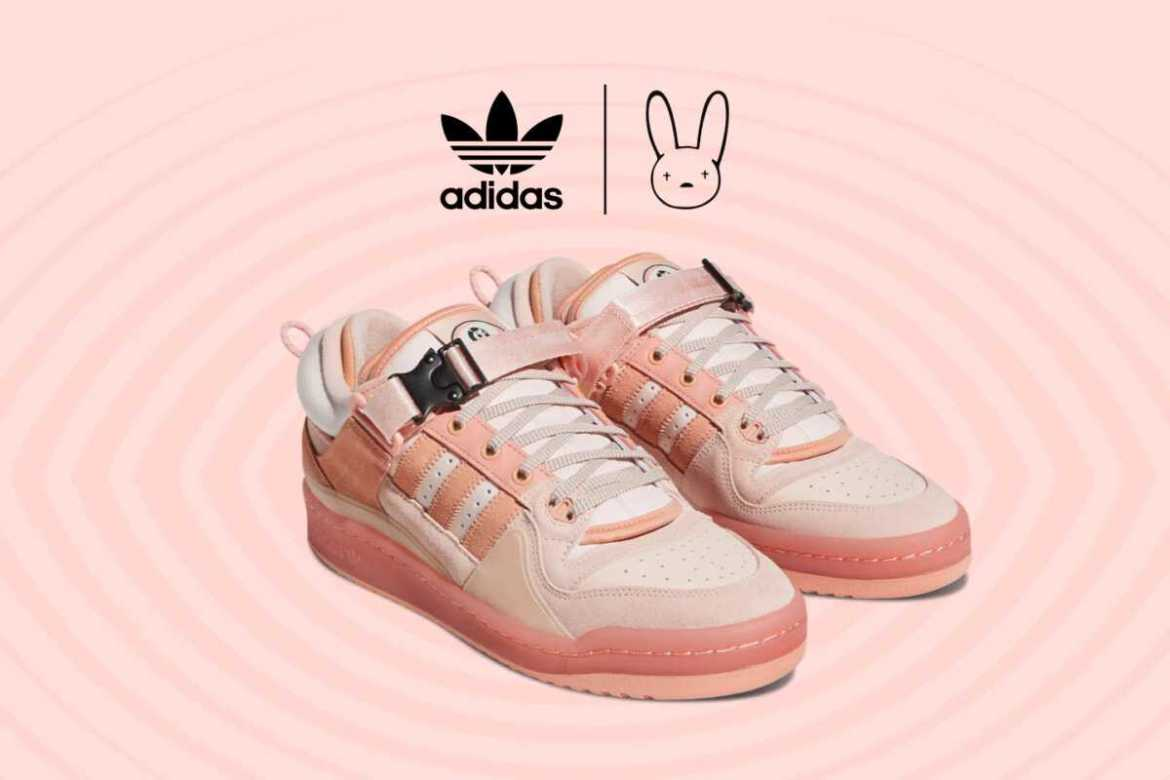 """BAD BUNNY × ADIDAS FORUM LOW """"THE FIRST CAFE"""" PINK / バッド・バニー × アディダス フォーラム ロー """"ザ・ファースト・カフェ"""" ピンク"""
