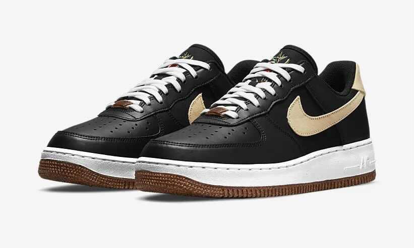 "Nike Air Force 1 '07 LV8 ""Black Cork""CZ0338-001"