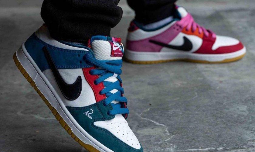 Parra x Nike SB Dunk Low パラ ナイキ Sb ダンク ローDH7695-100 wearing