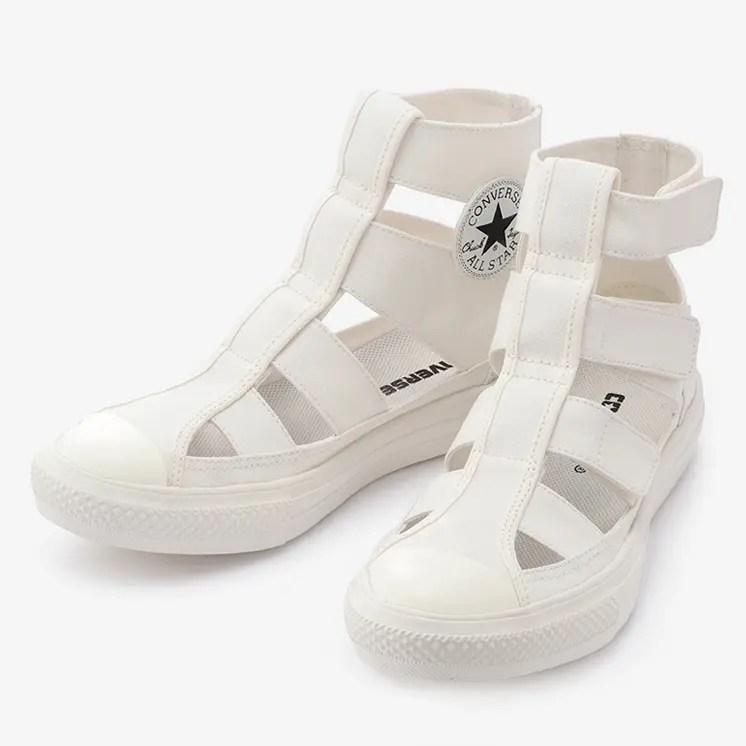 コンバース オールスター ライト グラディエーター ハイ (ホワイト) converse-all-star-light-gladiator-hi-white-31304181-pair-front