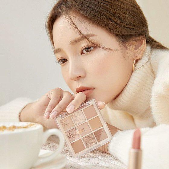 捨て色なし!デイジークのアイシャドウはマストハブ korean-cosmetic-dasique-eyeshadow-look