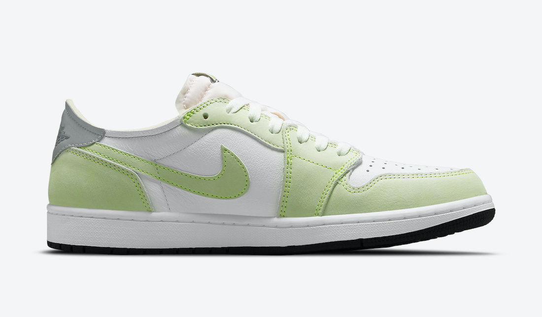 "Air Jordan 1 Low OG ""Ghost Green"" White/Ghost Green-Black CZ0790-103 main"
