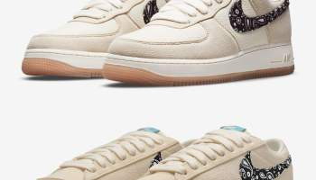 """Paisely""のNike Air Force 1 & Blazer Low"