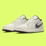 """Nike Air Jordan 1 Low """"Brushstroke"""" ナイキ エアジョーダン1 ロー """"ブラッシュストローク"""" DM3528-100 main"""