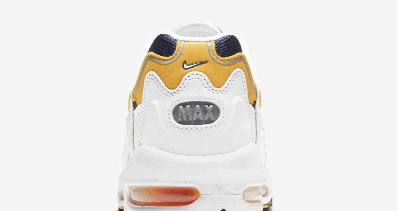 """ナイキ エア マックス 96 2 """"スモーク グレー"""" nike-air-max-96-2-smoke-grey-cz1921-100-heel-closeup"""