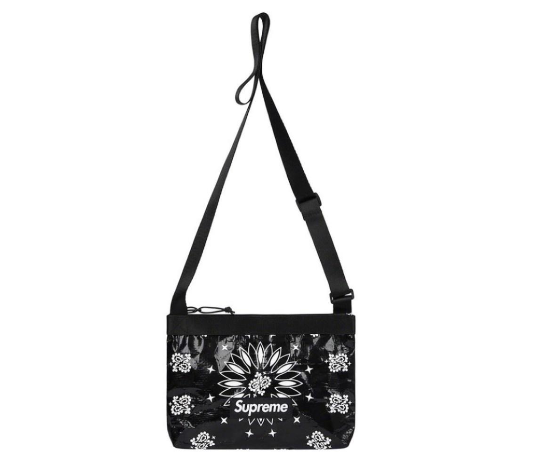 supreme 2021ss シュプリーム 2021春夏 week8 Bandana Tarp Side Bag