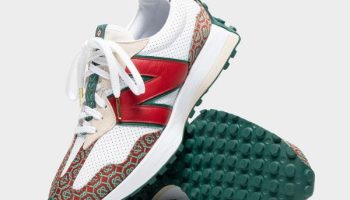 カサブランカ × ニューバランス 327 Casablanca-New-Balance-327-Red-Monogram-MS327CAA-eyecatch